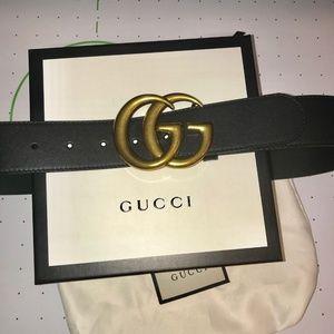 Gucci Marmont G Belt